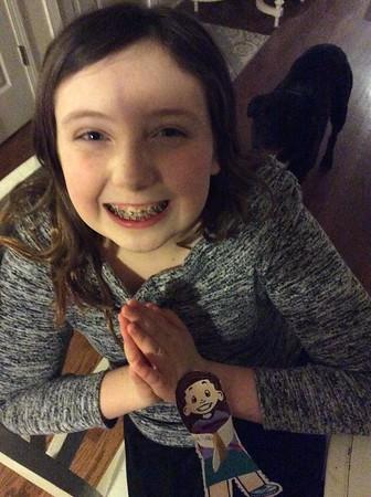 Eighth Grade Flat Stanleys/Sarahs for Lent