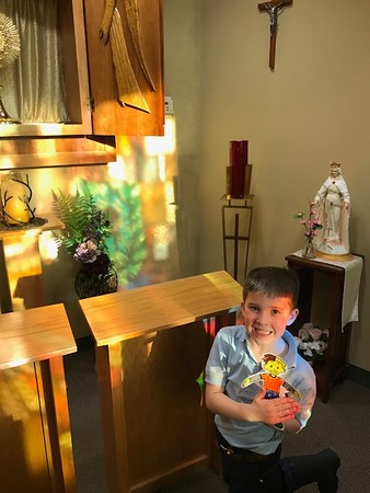 First Grade Flat Stanleys/Sarahs for Lent