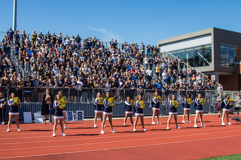 Newburg, OR - September 23: during Homecoming weekend for George Fox University.