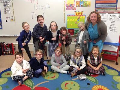 Kindergarten's 100th Day of School