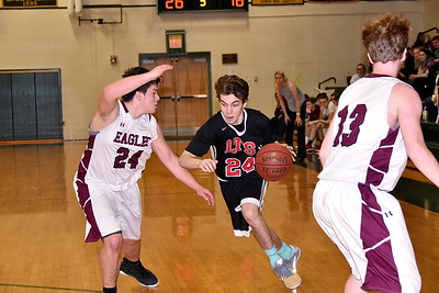 LTS Boys Varsity Basketball Quarterfinal vs AMHS photos by Gary Baker