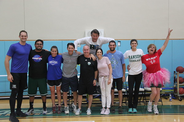 MS Faculty  vs. Student Basketball