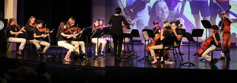 Middle School String Orchestra Spring Concert