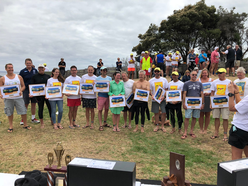 P2P 2018 10 Year Award Swimmers