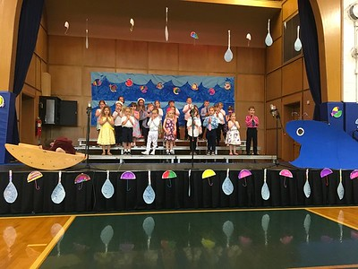 "PreK & K Spring Musical ""Jonah and the Whale"""