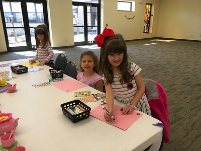 PreK/K Fasion Show Tea Party