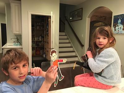 Second Grade Flat Stanleys/Sarahs for Lent