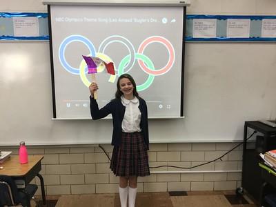 Sixth Grade Olympics with Mrs. DiLegge
