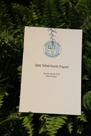 Upper School Awards Ceremony