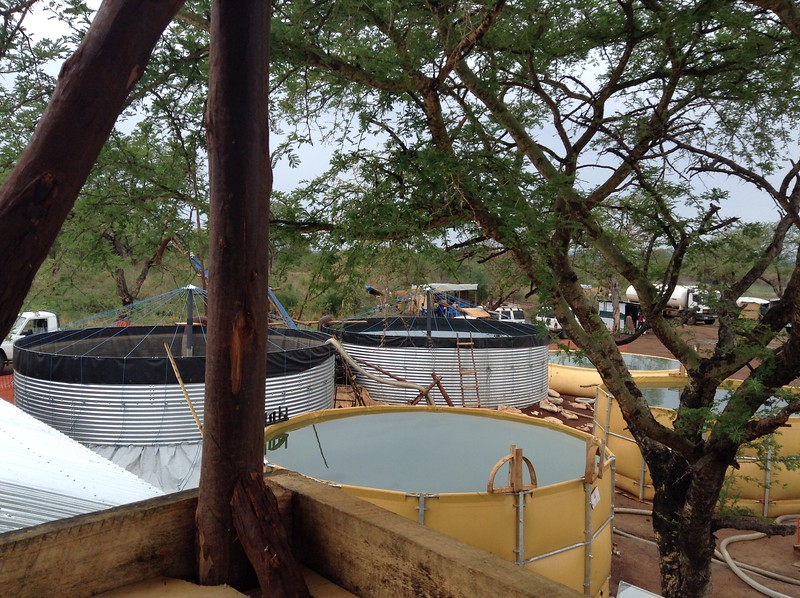 Nile River Water Treatment Plant update