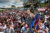 Nicaragua - Diriamba 19/01/2016 Tradicional fiesta en honor a San Sebastian, patrono de Diriamba y el tradicional Tope de Los Santos en la ciudad de Dolores , Carazo / Nikaragua : Traditionelles Fest zu Ehren des Patrons San Sebastian in Diriamba - Religion - Feiertag - Brauchtum © Oscar Navarrete/LATINPHOTO.org