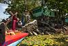 Nicaragua - Granada 31/03/2015 Viacrucis acuatico en las Isletas de Granada como parte de las celebraciones de Semana Santa / Nikaragua : Ostern 2015 - In der Karwoche wird in Granada auf einem Boot eine Christusstatue transportiert und von Booten begleitet © Oscar Navarrete/LATINPHOTO.org