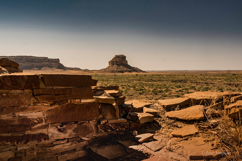 Fajada Butte, the site of solstice alignments and possible rituals
