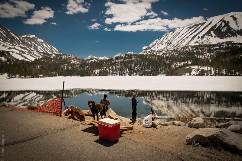 Rock Creek Lake!