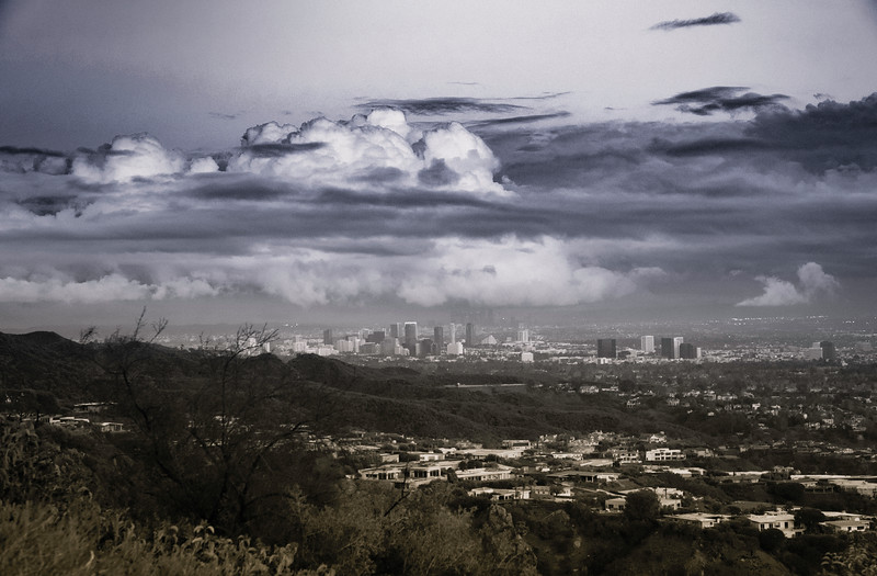 January Storm Cloud Over DTLA