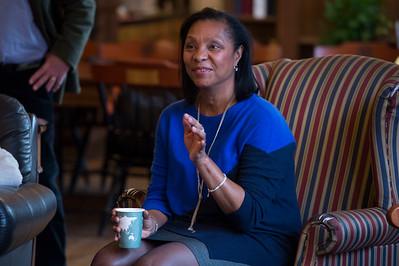 Karen Stevenson '75 Morning Meeting speaker