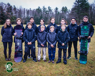 Varsity Snowboarding 2017-2018