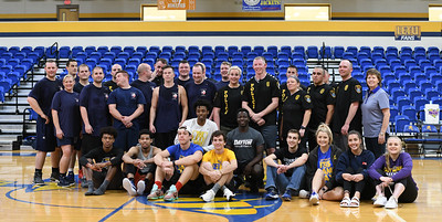 2018 Longview Police vs Longview Fire Basketball Game