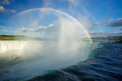 Rainbows Over Falls by Mary Presson Roberts - Judges' Selection  -  2017-2018 QCC #1