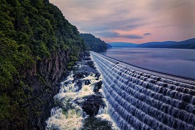 Croton Dam at Dawn by Gary Emord - Judges' Selection  -  2017-2018 QCC #1