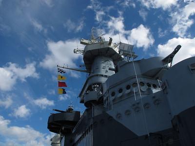USS Yorktown Today by Warren Johnson