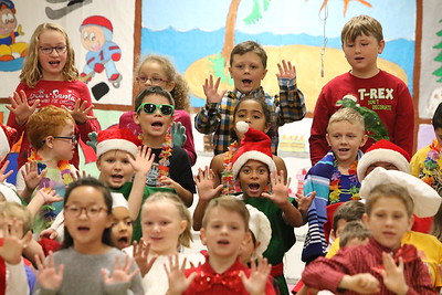 "Set 1: School Performance 2/3 Winter Program ""Holiday Windows"""