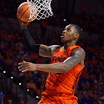 University of Florida Gators guard Keith Stone drives toward the basket during the first half as the Gators host the Kentucky Wildcats in Exactech Arena at the Stephen C. O'Connell Center in Gainesville, Florida.  March 3rd, 2018. Gator Country photo by David Bowie.