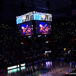 Exactech Arena during the first half as the Gators lead 40-20 over the Vanderbilt Commodres in Exactech Arena at the Stephen C. O'Connell Center in Gainesville, Florida.  December 30th, 2017. Gator Country photo by David Bowie.