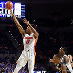 University of Florida Gators guard KeVaughn Allen during the first half as the Gators lead 40-20 over the Vanderbilt Commodres in Exactech Arena at the Stephen C. O'Connell Center in Gainesville, Florida.  December 30th, 2017. Gator Country photo by David Bowie.