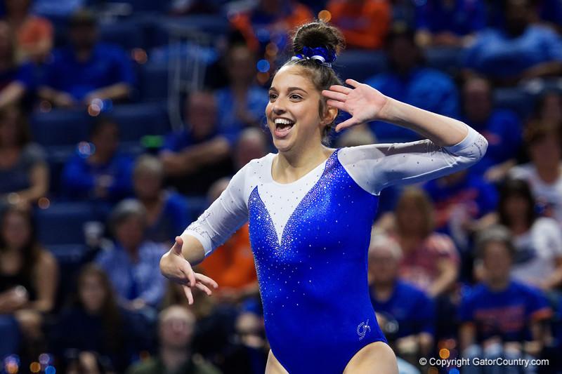 Florida Gators Gymnastics 2017-2018 vs Georgia Bulldogs