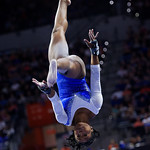 University of Florida Gators gymnist Alicia Boren performing on the beam as the Gators host the University of Georgia Bulldogs in Exactech Arena at the Stephen C. O'Connell Center in Gainesville, Florida.  February 9th, 2018. Gator Country photo by David Bowie.