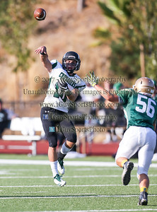 JV Football Moreau Catholic vs. St. Bernard's