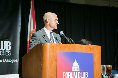 The Forum Club November 11, 2017 with speaker David Simas photos by CAPEHART
