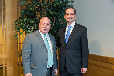 The Forum Club of  the Palm Beaches February 5, 2018 at the Kravis Center with U.S. Secretary of Labor Alexander Acosta photos by CAPEHART @capehartphotography #capehartphotography
