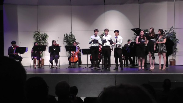 Chamber Concert 5/2018 - Bohemian Rhapsody