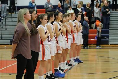 MHS Girls Varsity Basketball vs Plainedge