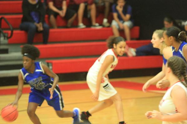 NE JV Girls Basketball vs Dixie 1-23-18