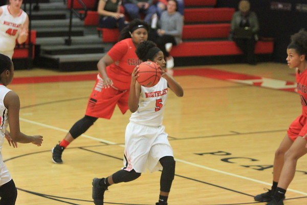 NE V Girls Basketball vs Clearwater 1-9-18