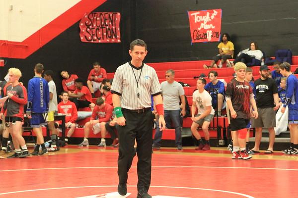 #1 Championship Rd 1 District Wrestling 2-16-18