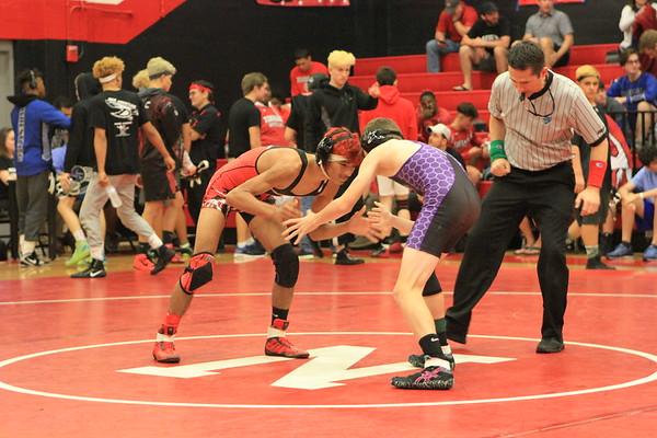 #4 Championship Semi District Wrestling 2-16-18