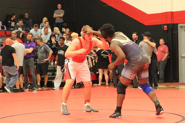 #5  Consolation Quarter Finals District Wrestling 2-16-18