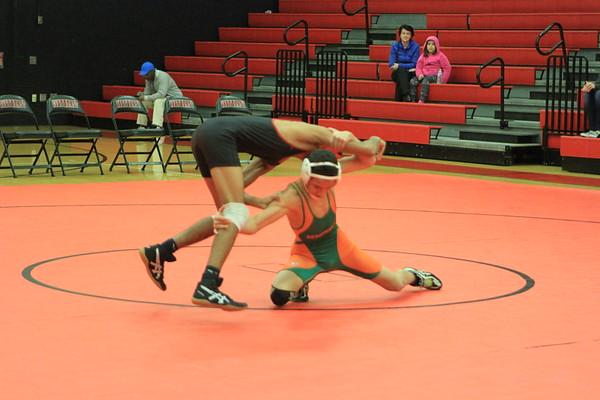NE JV & V Wrestling vs Seminole 1-24-18