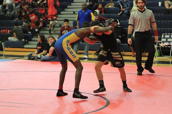 Wrestling Gladiator Inviational #1 Quaterfinals 1-27-18