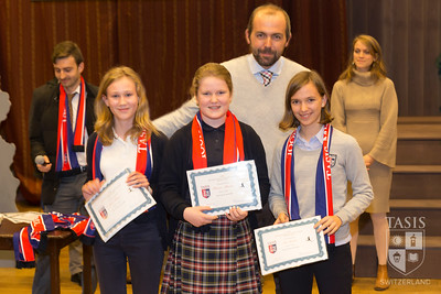 Middle School Sport/Activities Awards - Fall 2017