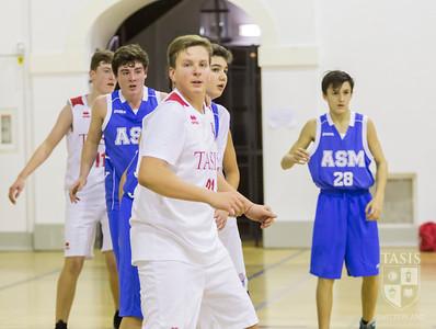 Boys Junior Varsity action vs ASM