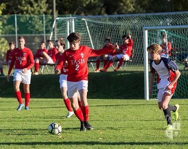TASIS JV Soccer Action vs the International School of Como