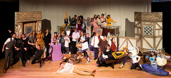 Beauty and the Beast JR. Group photos