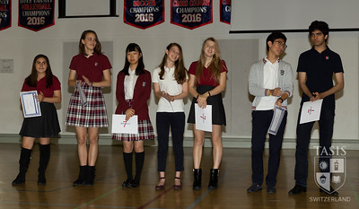 Spring HS Magnificent 7 Awards