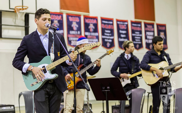 High School Music Assembly