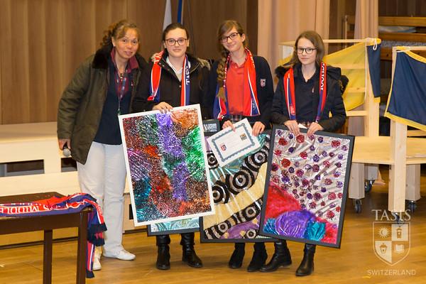 Middle School After-School Program Awards Ceremony